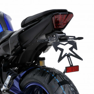 Support plaque alu noir Ermax Yamaha MT 07 2018