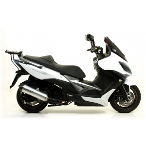 Embout carbone Arrow Race Tech Kymco 400 XCITING 2012-16