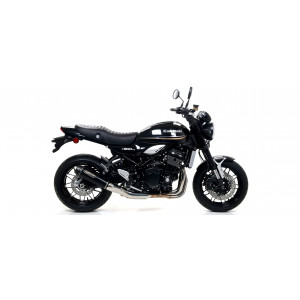 Silencieux Arrow Rebel Black embout carbone, Kawasaki Z900RS 2017-18