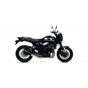 Silencieux Arrow Rebel Black embout alu, Kawasaki Z900RS 2017-18