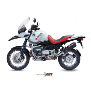 Silencieux Mivv Oval Carbone embout Carbone, BMW R 1150 GS 98-03