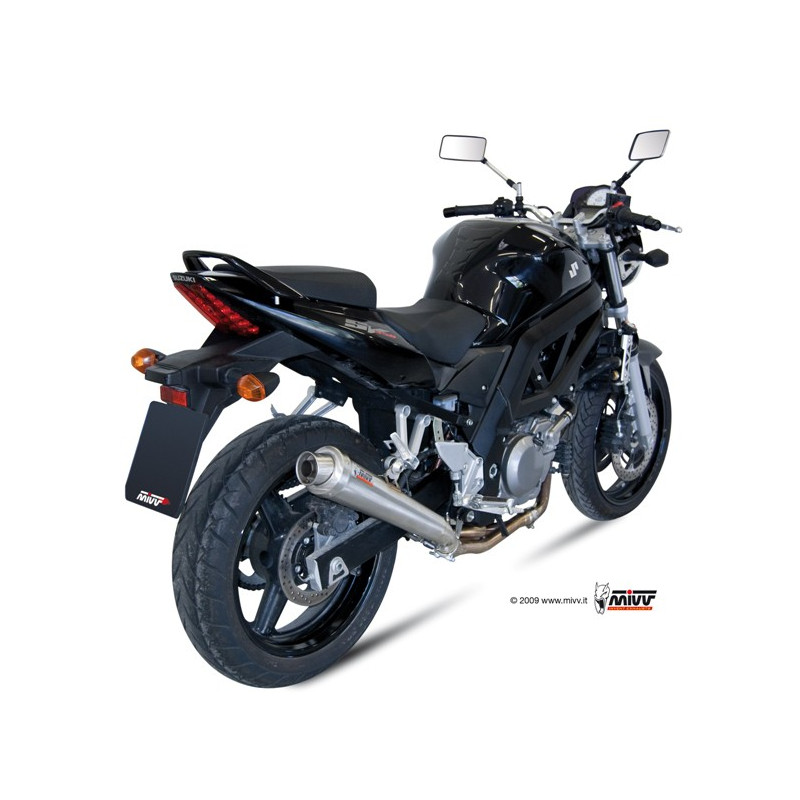 silencieux mivv x cone inox suzuki sv 650 2004 avsmoto racing parts. Black Bedroom Furniture Sets. Home Design Ideas