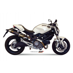 Silencieux Mivv GP Carbone, Ducati Monster 696 08-15