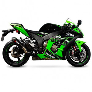 Echappement Scorpion Serket conique carbone, Kawasaki ZX10R 2016-18