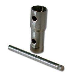 Clé à bougie BIHR 16/18/21mm - Longueur 72mm