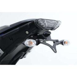Support de plaque noire R&G Yamaha 700 Tracer et 700 XSR 2016-20