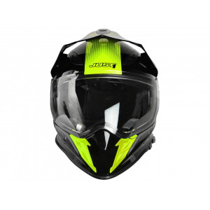 Casque JUST1 J34 Adventure Shape Yellow Neon Gloss taille S