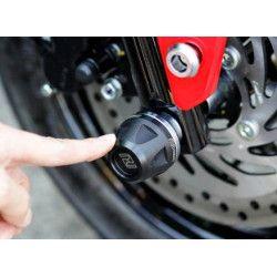 Tampons de protection roue avant et arrière, crash pads Honda 125 MSX