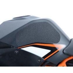 Kit grip de réservoir R&G RACING Eazi-Grip™ translucide (2 pièces) KTM RC