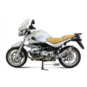 Silencieux Mivv Suono Inox embout Carbone, BMW R1150R 00-06
