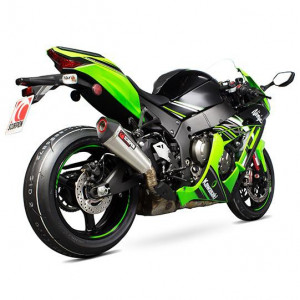 Echappement Scorpion Serket conique inox, Kawasaki ZX10R 2016-18