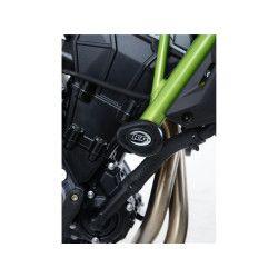 Tampons de protection R&G RACING Aero noir Kawasaki Z650 2017-19