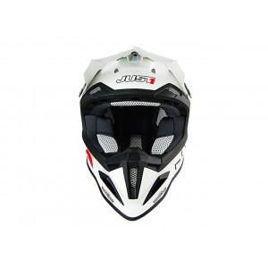 Casque Just1 J12 Solid blanc XL