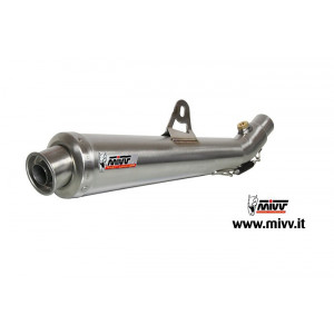 Silencieux double MIVV X-Cone inox Ducati Monster 620/800/1000