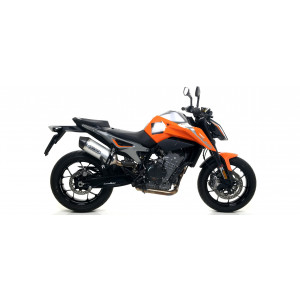 Silencieux Arrow Race-Tech Aluminium embout carbone, KTM Duke 790