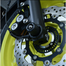 Protections de fourche R&G RACING noir Yamaha MT-07 2018-20