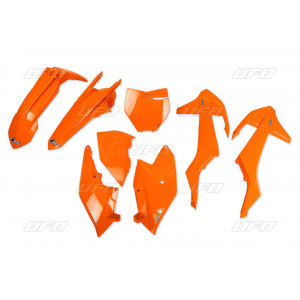 Kit plastique UFO orange fluo KTM
