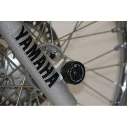 Protection de fourche R&G RACING noir Yamaha DT125 RE-X 88-06