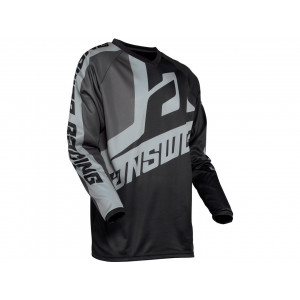 Maillot ANSWER Syncron Voyd Black/Charcoal/Steel taille M