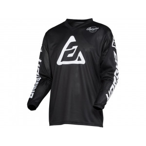 Maillot ANSWER Arkon Bold Black/White taille S