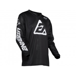 Maillot ANSWER Arkon Bold Black/White taille XL
