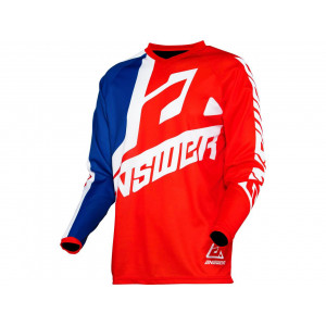 Maillot ANSWER Syncron Voyd Red/Reflex/White taille L