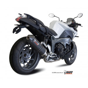 Silencieux MIVV Oval carbone / embout carbone BMW K1300 R/S 09-15