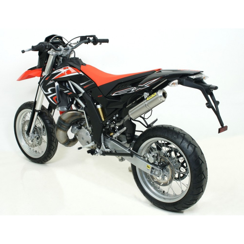 silencieux arrow titane aprilia 125 sx rx 08 avsmoto racing parts. Black Bedroom Furniture Sets. Home Design Ideas
