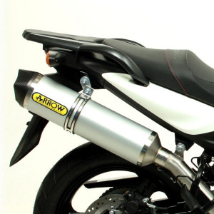 Silencieux Aluminium embout carbone Bmw 650 F GS 08-12