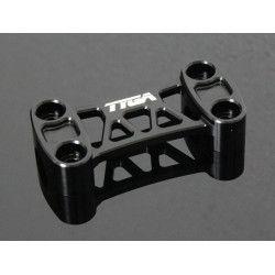 Pontet de guidon aluminium noir, Honda 125 MSX