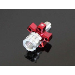 Molette de réglage câble d'embrayage Rouge, Honda 125 MSX GROM