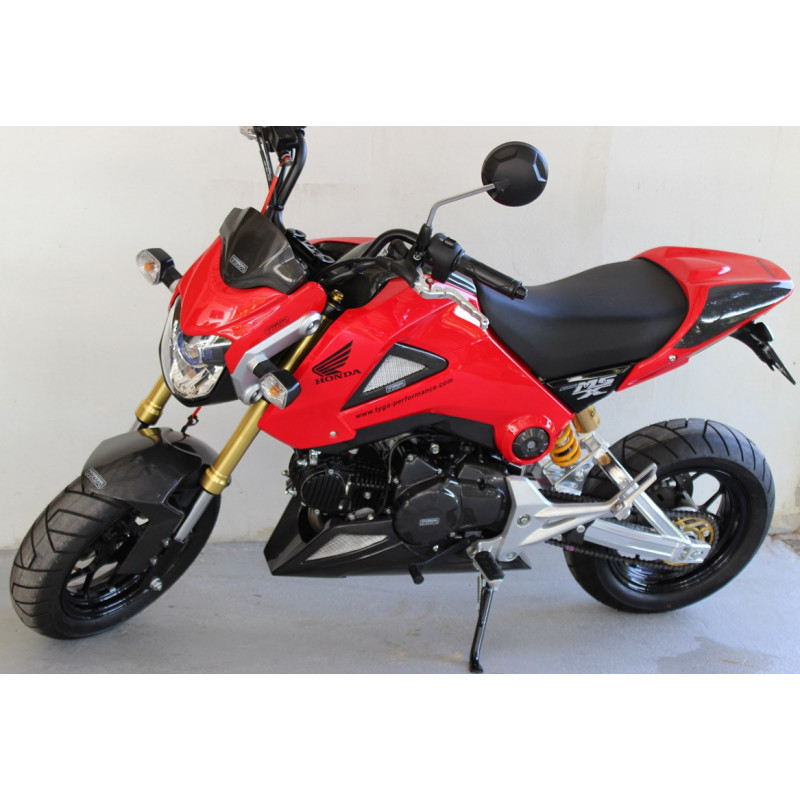 car nage de phare bikini rouge honda 125 msx grom avsmoto racing parts. Black Bedroom Furniture Sets. Home Design Ideas