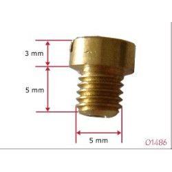 Gicleur de ralenti M5 carburateur Dellorto