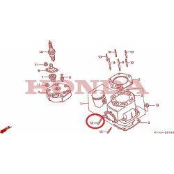 Goujon d'échappement (8x25), Honda 125 NSR jc20 jc22 CRM jd13