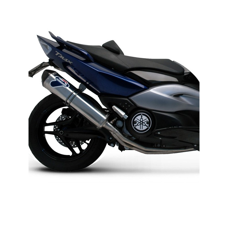 ligne compl te termignoni inox silencieux inox relevance yamaha 500 t max 01 11 avsmoto. Black Bedroom Furniture Sets. Home Design Ideas