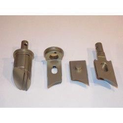 Kit valves échappement KNP, CNC aluminium, RG125 RGV250 RS250