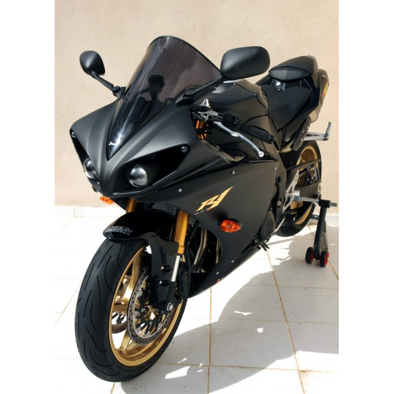 bulle haute protection ermax yamaha yzf r1 2009 2014 avsmoto racing parts. Black Bedroom Furniture Sets. Home Design Ideas