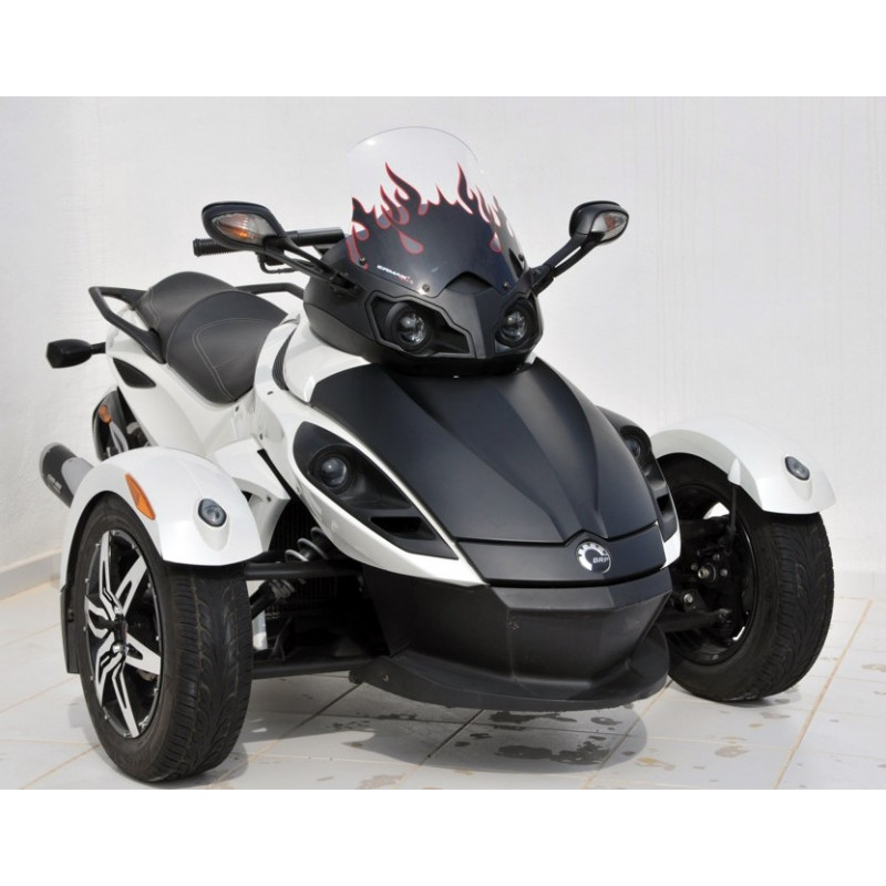 bulle haute protection ermax can am spyder 990 rs rss 2011 2012 avsmoto racing parts. Black Bedroom Furniture Sets. Home Design Ideas