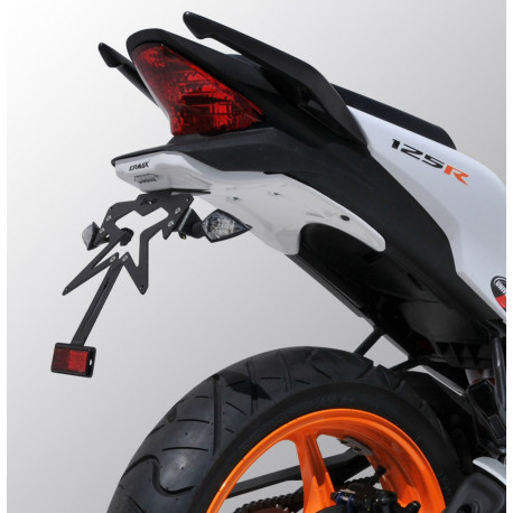 support de plaque ermax honda cbr 125 r 2011 18 avsmoto racing parts. Black Bedroom Furniture Sets. Home Design Ideas