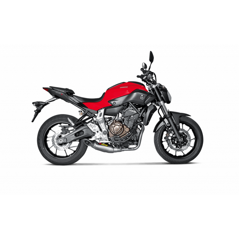 ligne compl te akrapovic racing titane yamaha mt07 2014 17 avsmoto racing parts. Black Bedroom Furniture Sets. Home Design Ideas