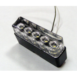 Eclairage de plaque 5 LED 180° E4 à encastrer EDP01