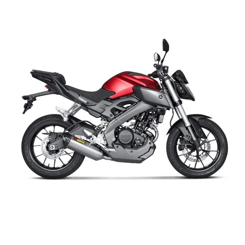 ligne compl te akrapovic racing titane euro 3 yamaha mt 125 yzf r 2014 16 avsmoto racing parts. Black Bedroom Furniture Sets. Home Design Ideas