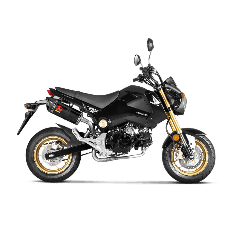 collecteur akrapovic titane honda 125 msx grom 2013 16 avsmoto racing parts. Black Bedroom Furniture Sets. Home Design Ideas