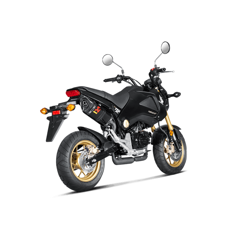 echappement akrapovic carbone honda 125 msx grom 2013 15 avsmoto racing parts. Black Bedroom Furniture Sets. Home Design Ideas