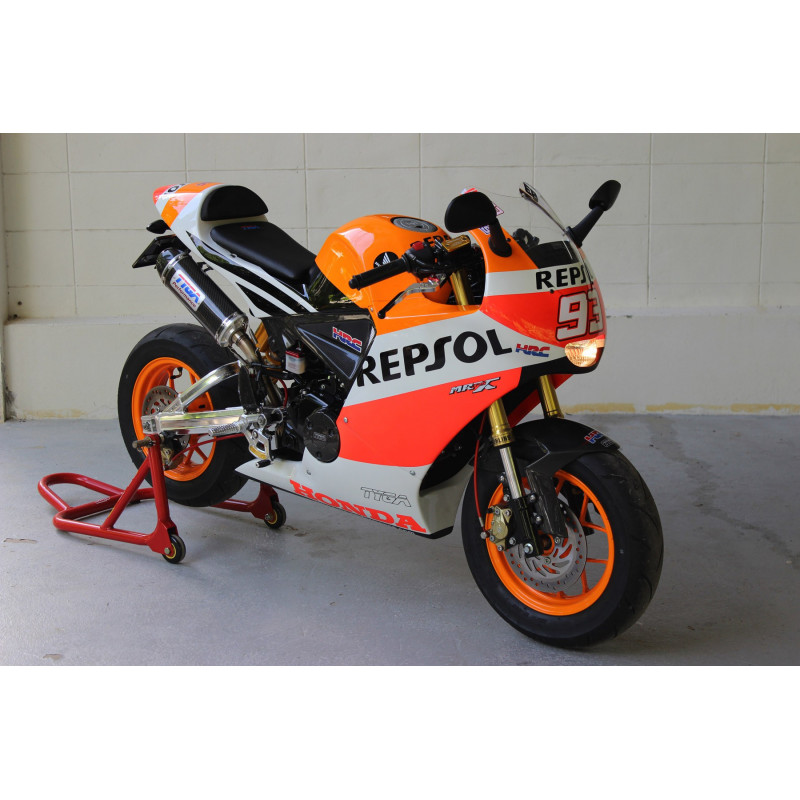 kit car nages complet mini racer xtreme repsol 93 honda 125 msx grom avsmoto racing parts. Black Bedroom Furniture Sets. Home Design Ideas