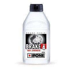 Liquide de frein Brake DOT 4 Ipone 500ml