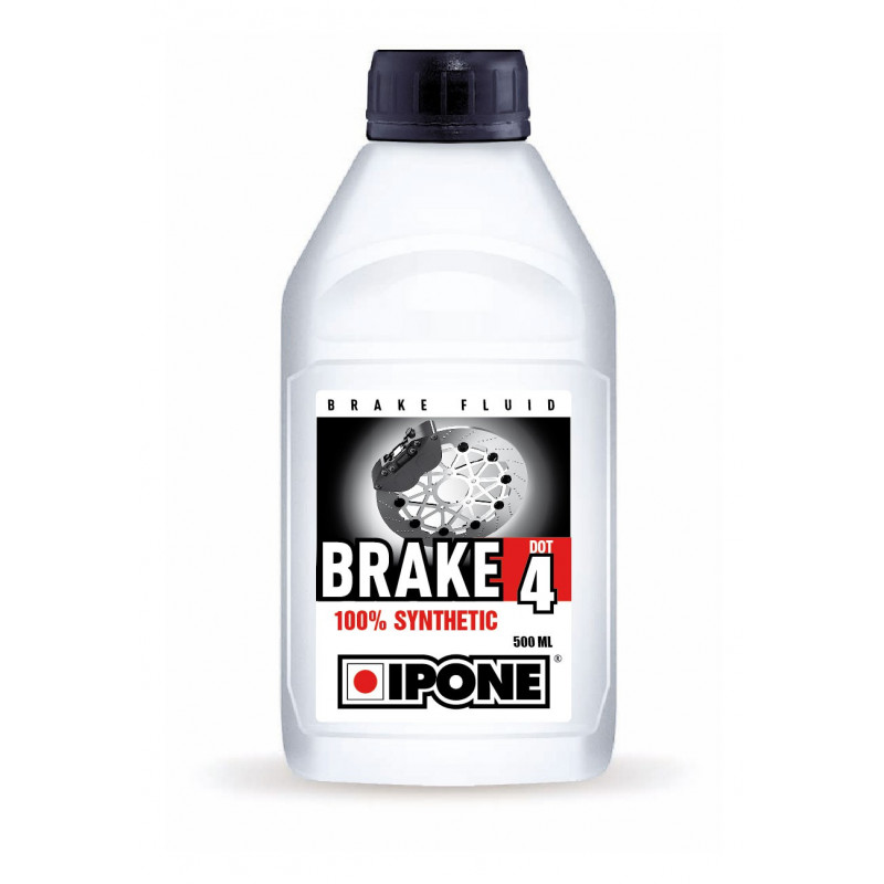liquide de frein brake dot 4 ipone 500ml avsmoto racing parts. Black Bedroom Furniture Sets. Home Design Ideas