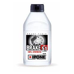 Déstockage Liquide de frein Brake DOT 5.1 Ipone 500ml