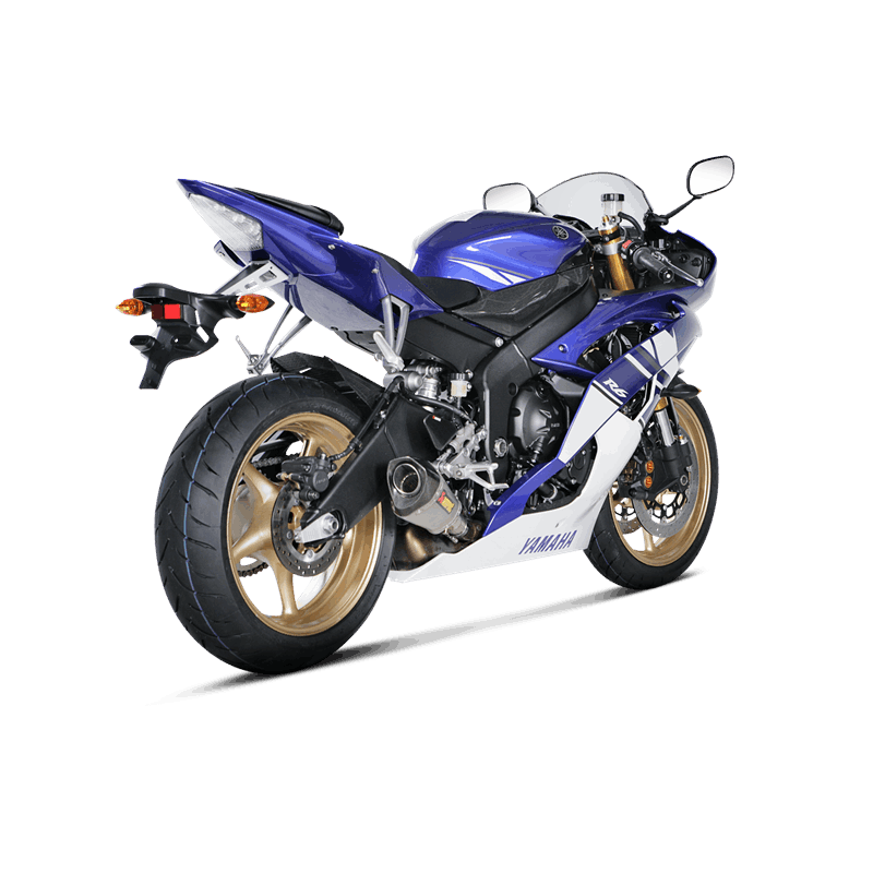 echappement akrapovic titane yamaha yzf r6 2010 2016 avsmoto racing parts. Black Bedroom Furniture Sets. Home Design Ideas