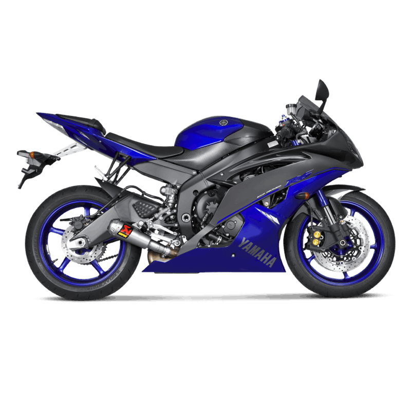echappement akrapovic titane yamaha yzf r6 2006 2016 avsmoto racing parts. Black Bedroom Furniture Sets. Home Design Ideas